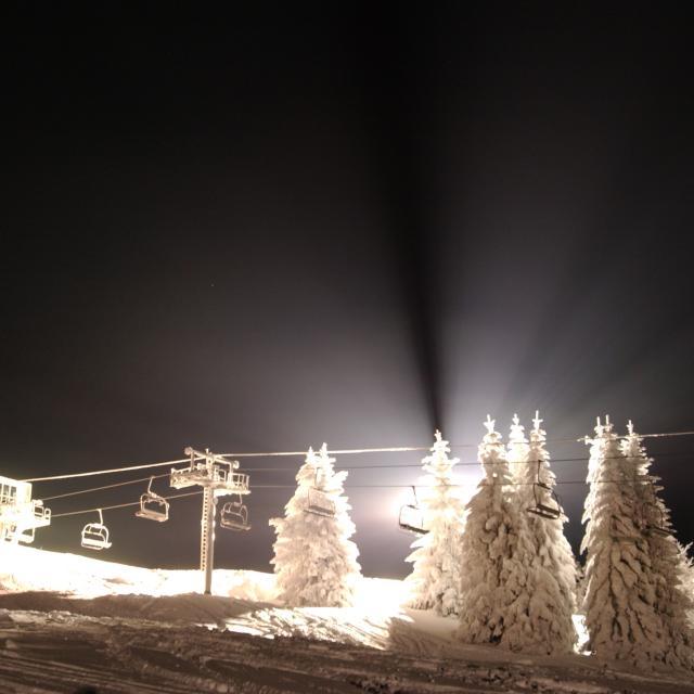 Station Le Collet Ski de nuit